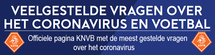 KNVB Coronavirus - Vraag en Antwoord